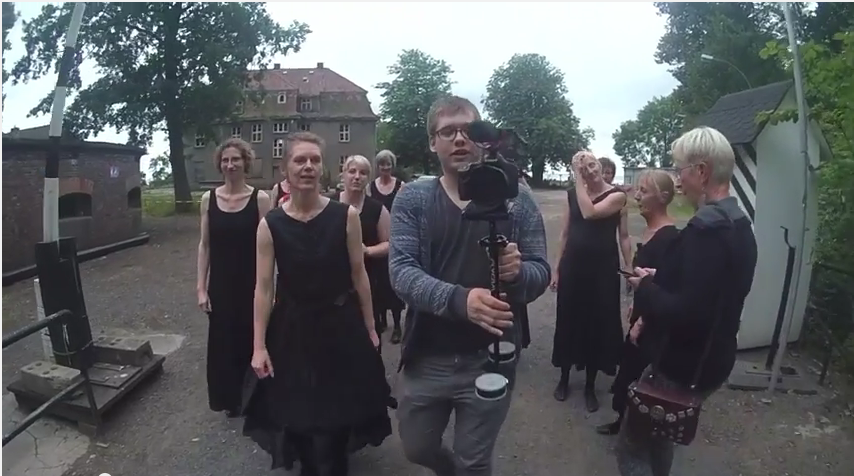 Making-of zum Musikvideo