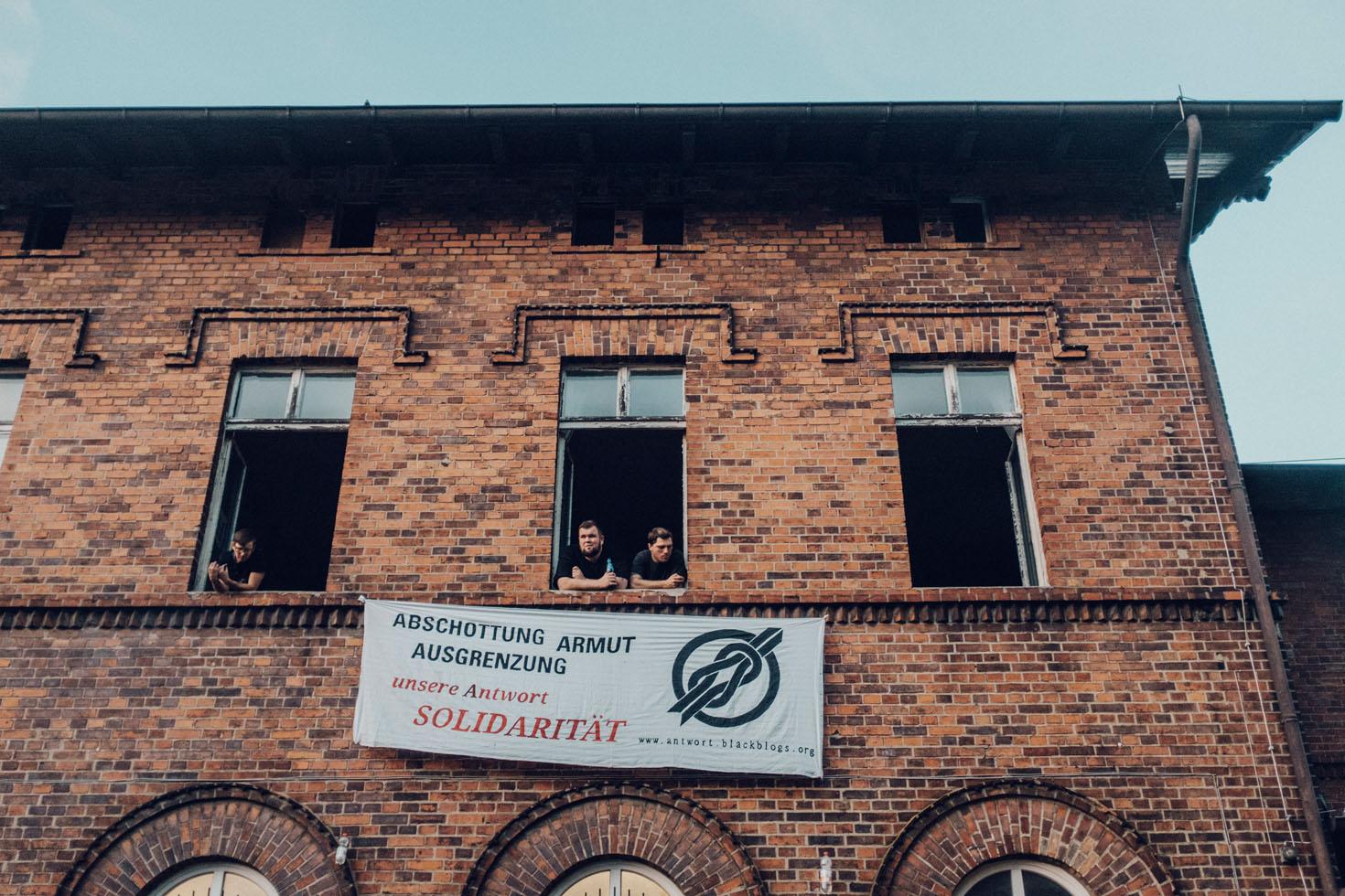 Marteria, Campino und Feine Sahne Fischfilet in Anklam - Noch nicht komplett im Arsch - 23.08.2016